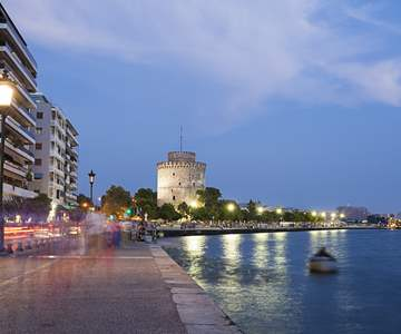 Thessaloniki by night.jpg - Polyplan Reizen