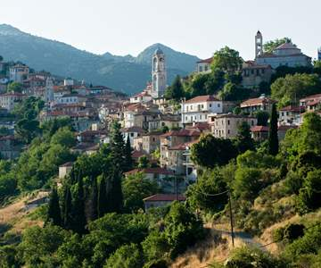 Dimitsana is a village located in northwestern mountain covered pine forests of Arcadia.jpg